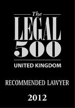 Uk Recommended Lawyer 2012