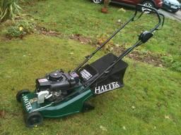 Latest acquisition: Hayter roller mower