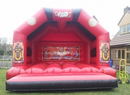 18ft X 18ft Disco Bounce 75.00 per day
