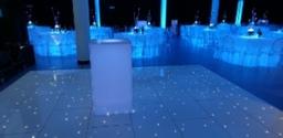 led dancefloo rhire
