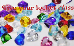 Sparking faceted birthstone hearts and bezels