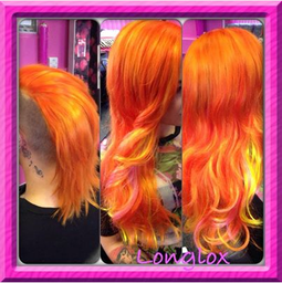 fabulous colours with longlox hair products