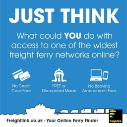 The widest freight ferry network in Europe