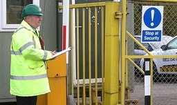 Static gate security guards