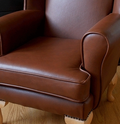 Childrens Leather Chair Cup