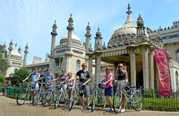 Enjoy a Private family bike tour of Brighton city
