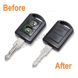 Vauxhall Corsa Combo 2 button remote key repair
