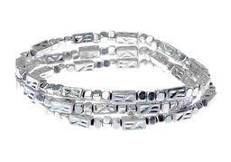 Beaded Silver Bracelet