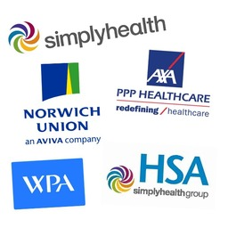 Recognised by major health insurers