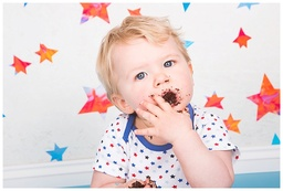 Chocolate Cake Smash in Camberley Surrey