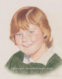'Ellie' Portrait