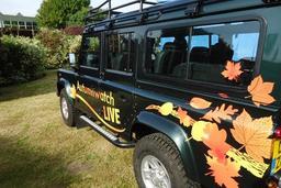 BBC Vehicle Livery