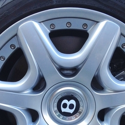 Bentley Alloy Wheel Repaired