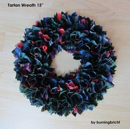 Tartan Wreath