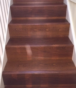 Laminate Stairs Quick Step Perspective Merbau