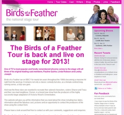 Wordpress for Birds of Feather