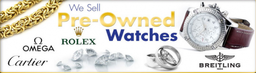 We Buy-Sell-Exchange & Advance Cash Loans on Prestige Watches