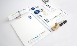 Western Industrial stationery design and print
