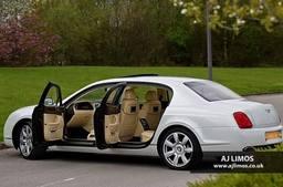 AJ LIMOS wedding car hire , Bentley