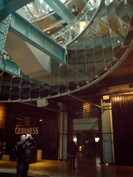 At the Guinness brewery