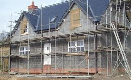 New house before render