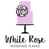 White Rose Wedding Cakes