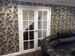 Lounge Door And Feature