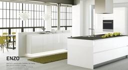 Enzo Handleless kitchen by Kuhlmann Kitchens