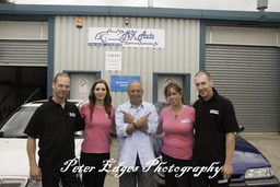 The MK Auto's Team with Bernie Fineman