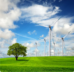 You might want a wind farm! - but we have ways to help you save energy!!