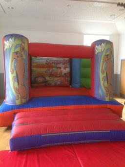 Medium indoor scooby doo castle