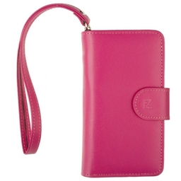 Manhattan Genuine Leather FULL Wallet & Card Holder Case for iPhone 5S 5C 5