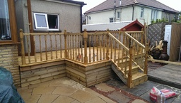 Completed Decking job