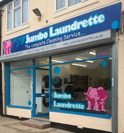 Jumbo Laundrette front