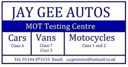 Jay Gee Auto Logo