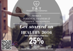 Personal training discount offer