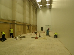 Cleanroom construction/project management