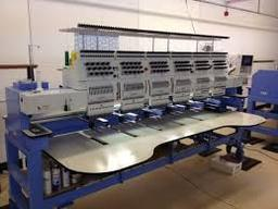 Our 6 head embroidery machine