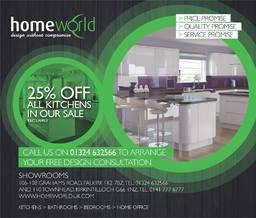 Homeworld Falkirk Advert