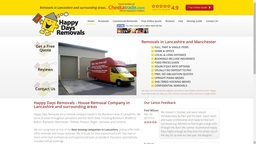 New Website 2015 | Happy Days Removals