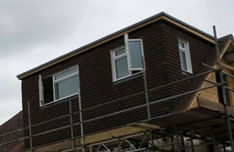 Flat roof and tiled dorma in worthing