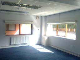 Office Painting in Nottingham. Peter Willetts