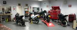 motorbike service and MOT