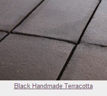 Black Handmade Terracotta Tiles