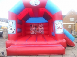 16x14 Dalmation with slide 55.00 per day