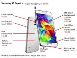 Samsung S6 and S5 Repairs