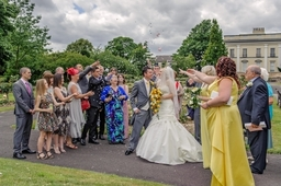 Wedding Photography Doncaster The Earl Savannah Lee Confetti