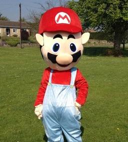 Mario mascot costume from £40