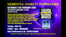Age UK Coventry Dementia Charity Fundraising Event