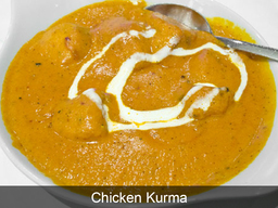 Chicken Kurma of Curry World Indian Takeaway